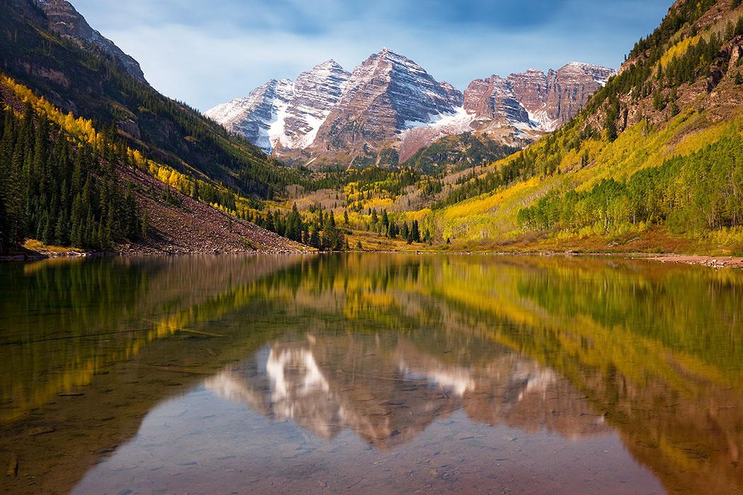 maroon bells lake at - photo #11